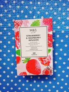 Mark's and Spencer strawberry & raspberry tea 20'(與另一紅茶同購減$5)