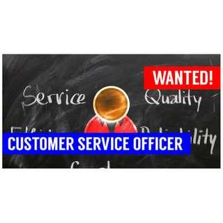 Wanted! Customer Service Officer