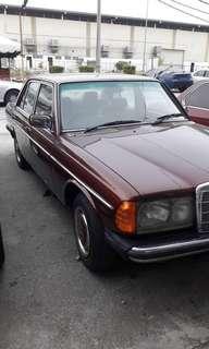 MERCEDES W123 1983 Classic