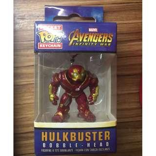 hulkbuster 鑰匙扣 Key chain 復仇者聯盟3無限之戰 marvel funko pop avengers infinity war