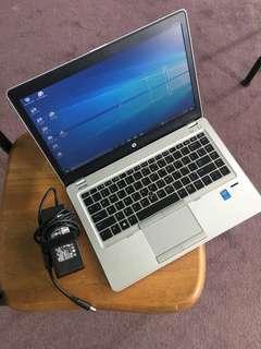 Hp Folio look new condition slim series core i5-4210U / 8GB Ram / 32gb msata+500GB Harddisk look fresh @ 430