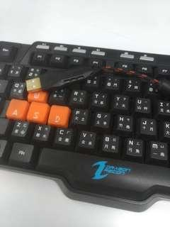 Dragon recon gaming keyboard 鍵盤