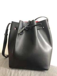 Bucket Bag Black color