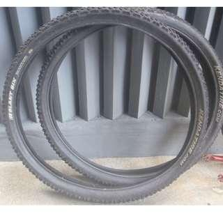 """Kenda 26"""" x 2.10""""  60TPI casing wire bead 30-80 psi road mountain bicycle tires front and rear back make offer"""