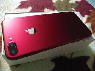 IPHONE 7 PLUS 128 GB LL SET FULLSET LIKE NEW