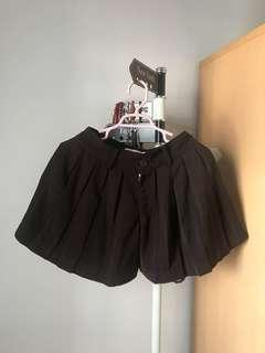 Brown Flare Short