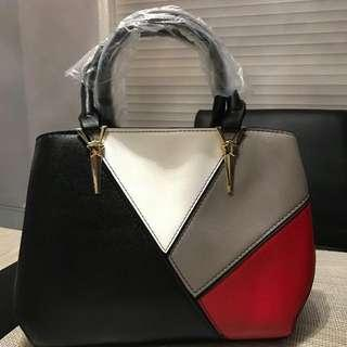 Brand New Synthetic Leather Handbag