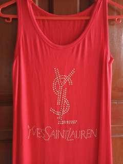 Long dress yves saint lauren