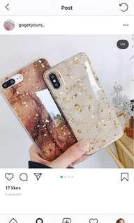 Iphone 7 casing gold