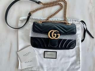 100%Real & New Gucci Marmont Bag