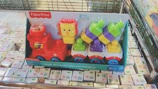 🚚 🔵特賣會購入🔵費雪玩具 積木車車組