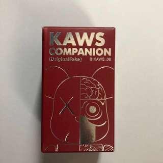 Medicom kaws 100% bearbrick
