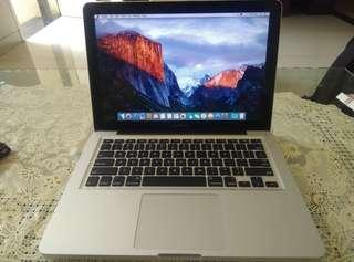 MACBOOK PRO 13 core i5 2011 cc normal mulusss tanpa dent