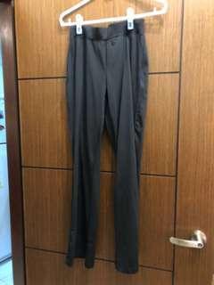 黑色彈性韻律褲  運動褲