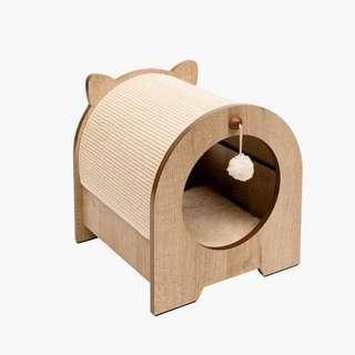 Instock | Hagen Catit Vesper Minou - Cosy Cat Bed + Scratcher