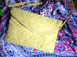 水松塞斜孭袋 (20×25cm)