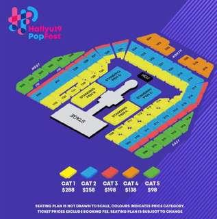 wts hallyupopfest cat1 ticket