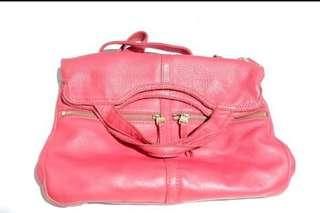 Fossil 2way Bag red