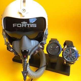 Fortis Pilot Head Display Piece