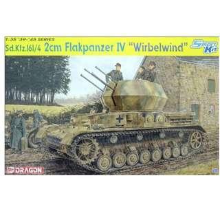 """DML 1/35 - Sd. Kfz.161/4 2cm Flakpanzer IV """"Wirbelwind"""""""