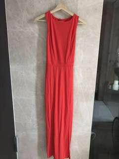 🚚 $150 Warehouse Sexy Red gown (Uk 10)