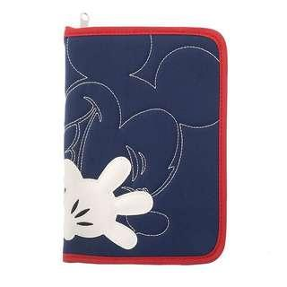 Disney 日本東京迪士尼限定 米奇 母子手帳 機票護照套 母子手冊