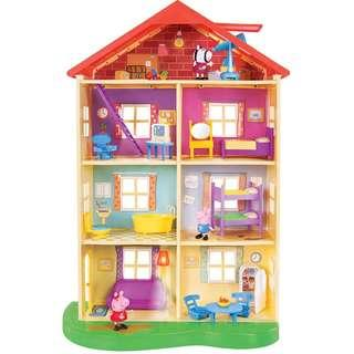 Peppa Pig's Lights & Sounds Family Home Playset