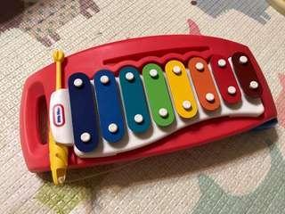 正品 little tikes 玩具鐵琴