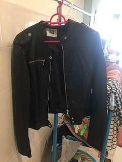 Leather jacket from Vero Moda