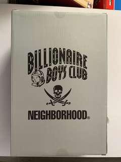 Medicom 400%+100% Billionaire boys club x Neighbourhood, 全新