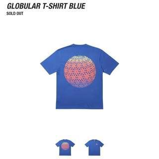 🚚 Palace Globular Tee (Blue)