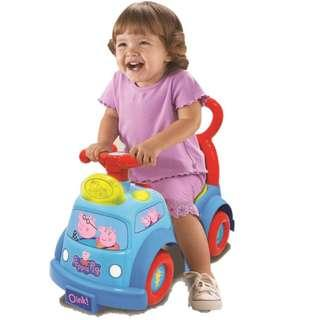 Peppa Pig Lights and Sound Musical Ride-on