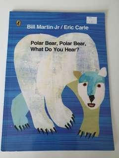 🚚 Eric Carle's Polar Bear,What do you hear?