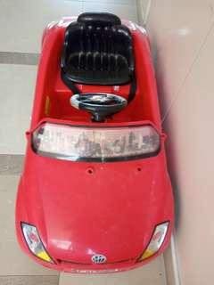 ride on electric car working condition