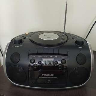 Pensonic PCD-901 Cassette & Disc Player