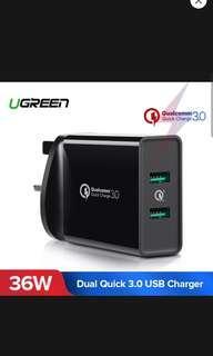 🚚 UGreen 3.0 Wall Charger