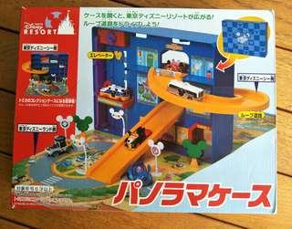 Tomica Takara Tomy Tokyo Disney Resort Storage Carry Display Playset