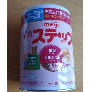 現貨 Meiji 明治日本版嬰兒奶粉 1-3歲 800g