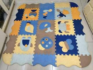 Baby thick puzzle playmat