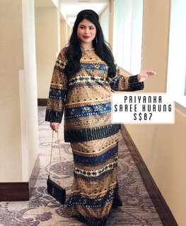 Priyanka Saree Kurung