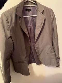 Grey blazer L size