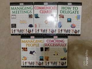 DK Managing books - meeting ; coaching ; delegate ; people