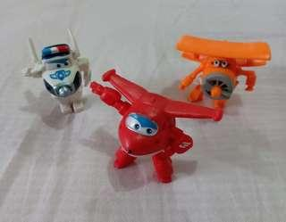 Super Wings Figurine Toys
