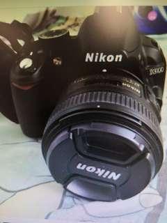 Nikon D3100 kit set VR