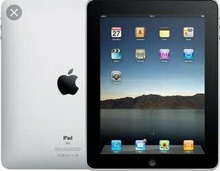 IPad 1,64 GB with SIM.