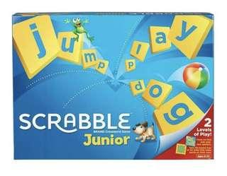 🚚 *Brand new and sealed* Scrabble Junior