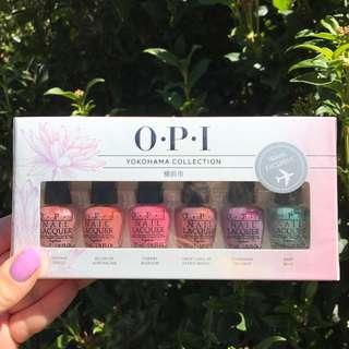 O.P.I Rare Yokohama Set