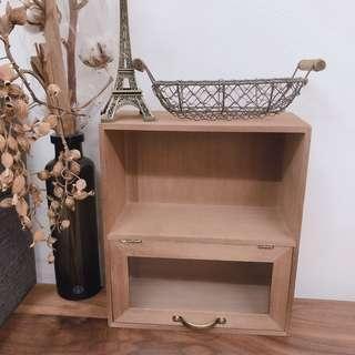 🚚 簡單雜貨-zakka鄉村風桌面收納置物櫃