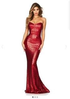 Nookie sequin gown