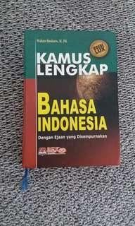 SALE! Kamus Lengkap Bahasa Indonesia oleh Wahyu Baskoro M.Pd